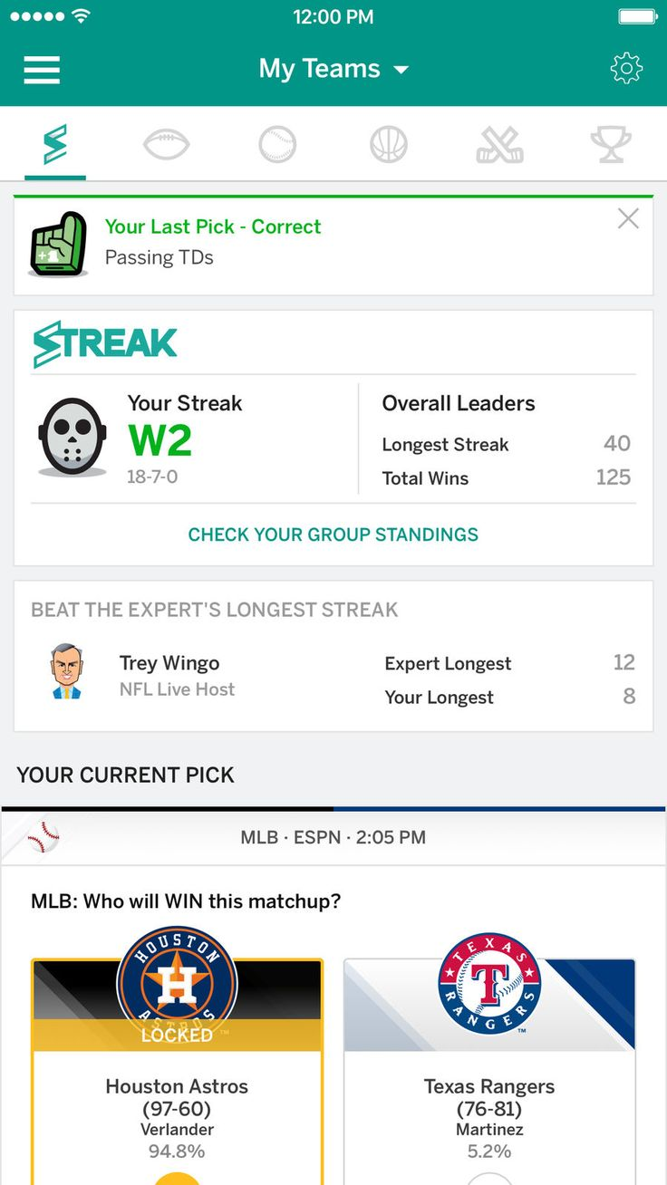 ESPN Fantasy Sports iosappsappGames Espn fantasy