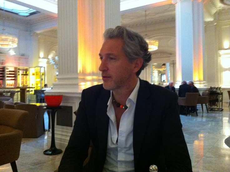 This week we've had the huge pleasure of hosting Marcel Wanders who is not just a great designer but also behind the design of Andaz Amsterdam which is soon to be open!