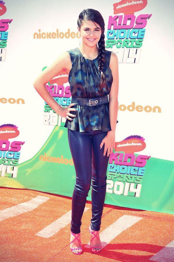 Amber Montana attemds Nickelodeon Kids Choice Sports Awards 2014