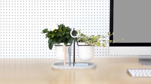 Statera Plants is a minimalist design created by Italy-based designer Fabrica. Statera is an object made for the workplace. We spend the majority of our lives in either our bed or at work where a number of stressors can affect us. (5)