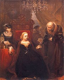 Jan Matejko ~ Poisoning of Queen Bona Sforza (1494-1557) ~ A year after returning to the Duchy of Bari, Bona Sforza was poisoned by her trusted officer, Gian Lorenzo Pappacoda. ~ Bona Sforza was a member of the powerful House of Sforza