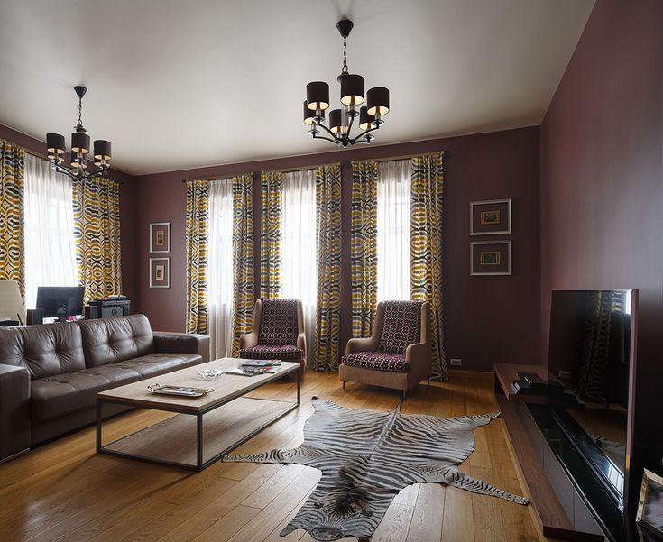 Гостиная в  цветах:   Светло-серый, Серый, Черный, Темно-коричневый, Бежевый.  Гостиная в  стиле:   Минимализм.