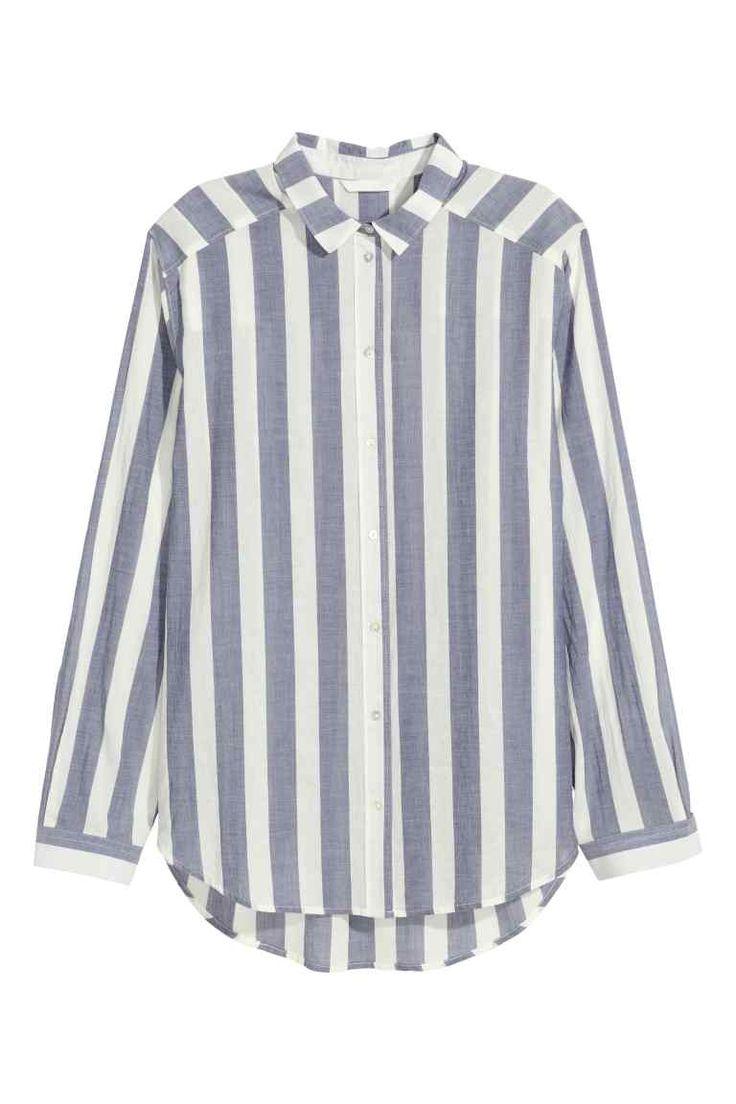 Cotton shirt | H&M                                                                                                                                                                                 More