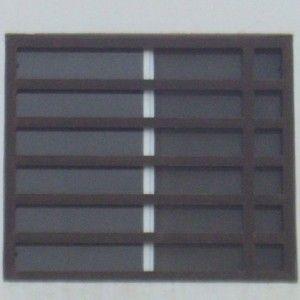 Rejas de herrería contemporánea instaladas como protección de ventanas