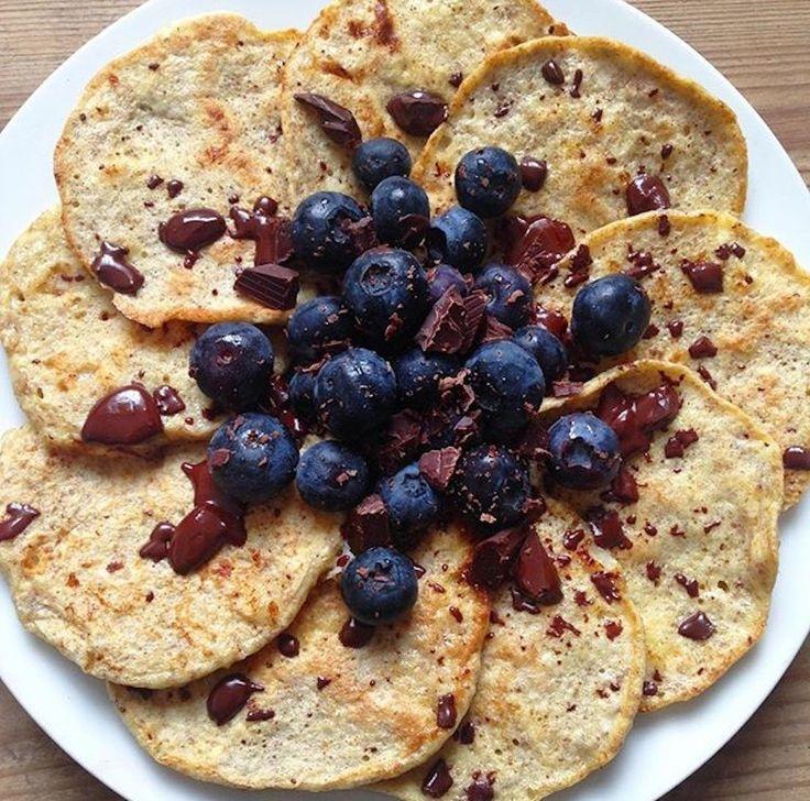 Her er opskriften på nemme, lækre proteinpandekager uden proteinpulver. Ideel til både morgenmad og dessert. Velbekomme :)