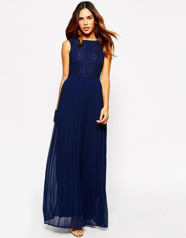 Warehouse Lace Panel Maxi Dress - Beautiful and probably very comfy!