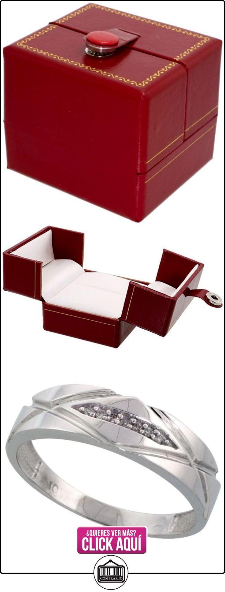 Revoni - Juego de alianzas de oro blanco  ✿ Joyas para hombres especiales - lujo ✿ ▬► Ver oferta: http://comprar.io/goto/B005M3A0QE