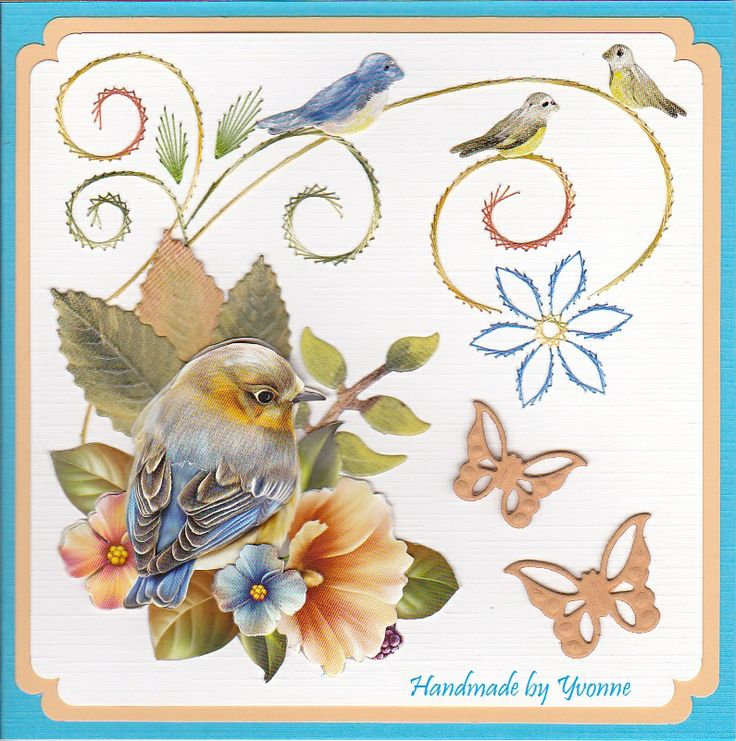 Ann's Paper Art - 3d Embroidery sheet #13