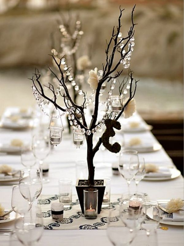 Manzanita centerpiece branches i do pinterest