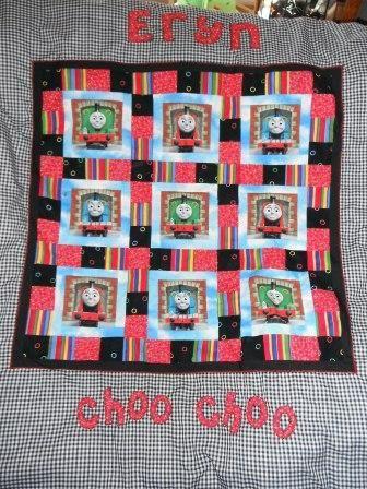 Thomas cot quilt