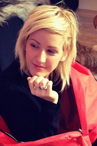 ellie goulding hair short I wish I could pull this off