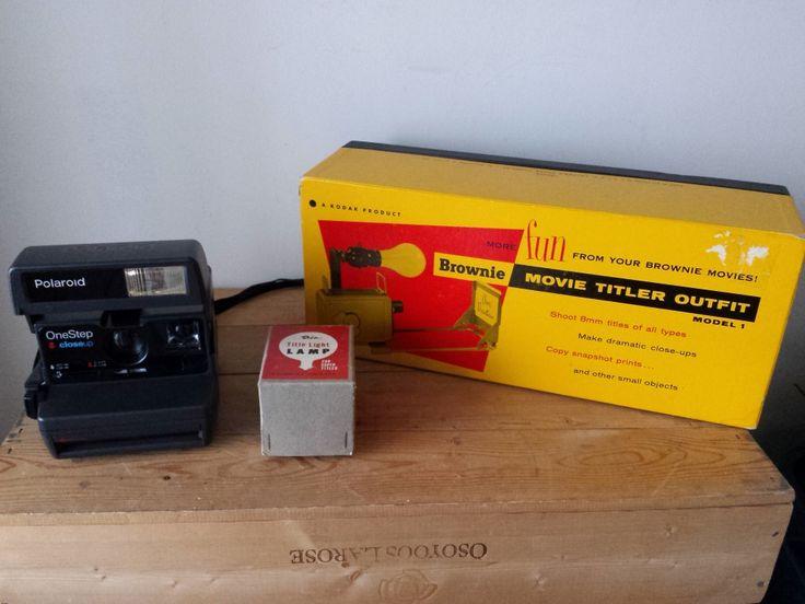 Vintage Camera & Accessories