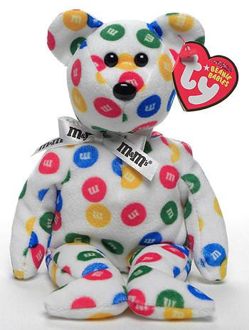 M&M's - Bear - Ty Beanie Babies. I have this already. It's the cutest thing ever!