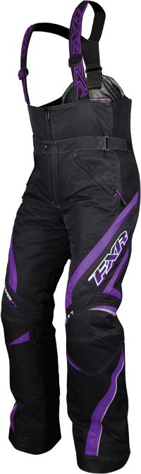 !!!! too bad I dont need new gear...FXR Women's TEAM Pant - Black-Purple