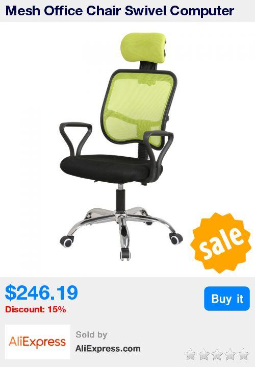 Mesh Office Chair Swivel Computer Chair Ergonomic Adjustable Backrest Lifting Rotatable High Bearing Capacity sedie ufficio * Pub Date: 10:34 Oct 19 2017