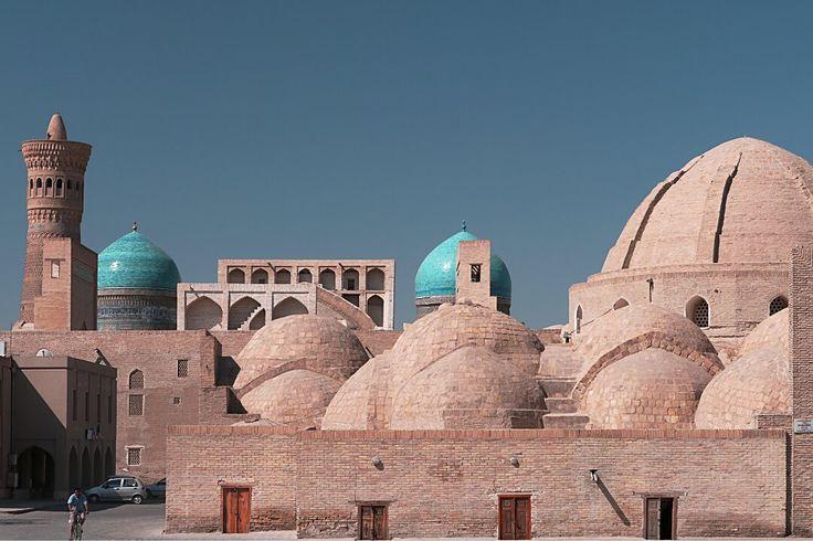 Boukhara, bazar Taq-i-Zargaron