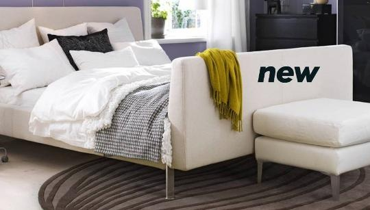 Model 16 upholstered bed wallpaper cool hd - Discontinued ikea beds ...