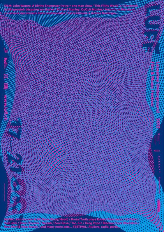 DEMIAN CONRAD DESIGN, for Lausanne Underground Film & Music Festival: