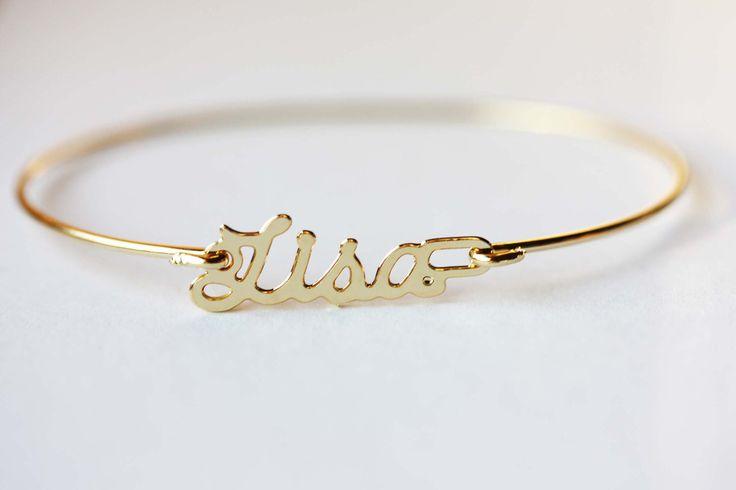 Vintage Name Bracelet - Lisa