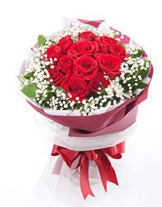 Singapore Flowers: Sweetheart Rose Bouquet!