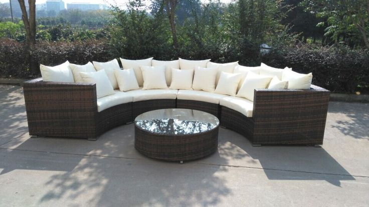 Riviera Outdoor Sectional Lounge Set