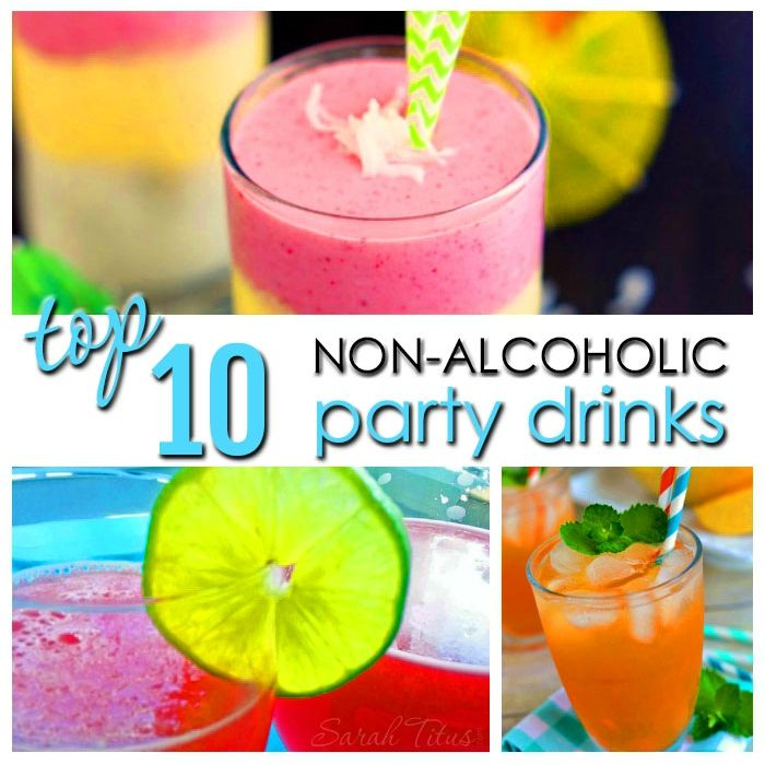 Top 10 non alcoholic party drinks alcoholic party drinks for Best mixed drinks for parties