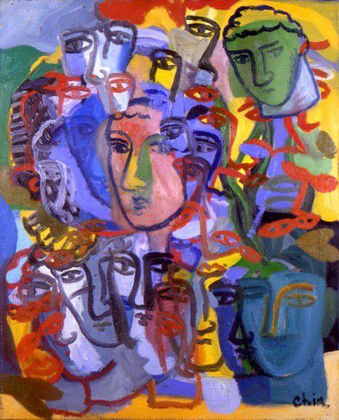 sandro chia Paintings 2000