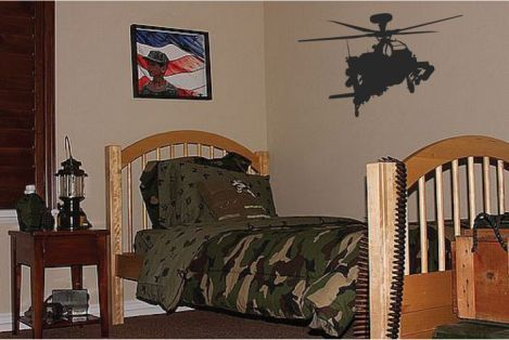 kids army bedroom IDEAS