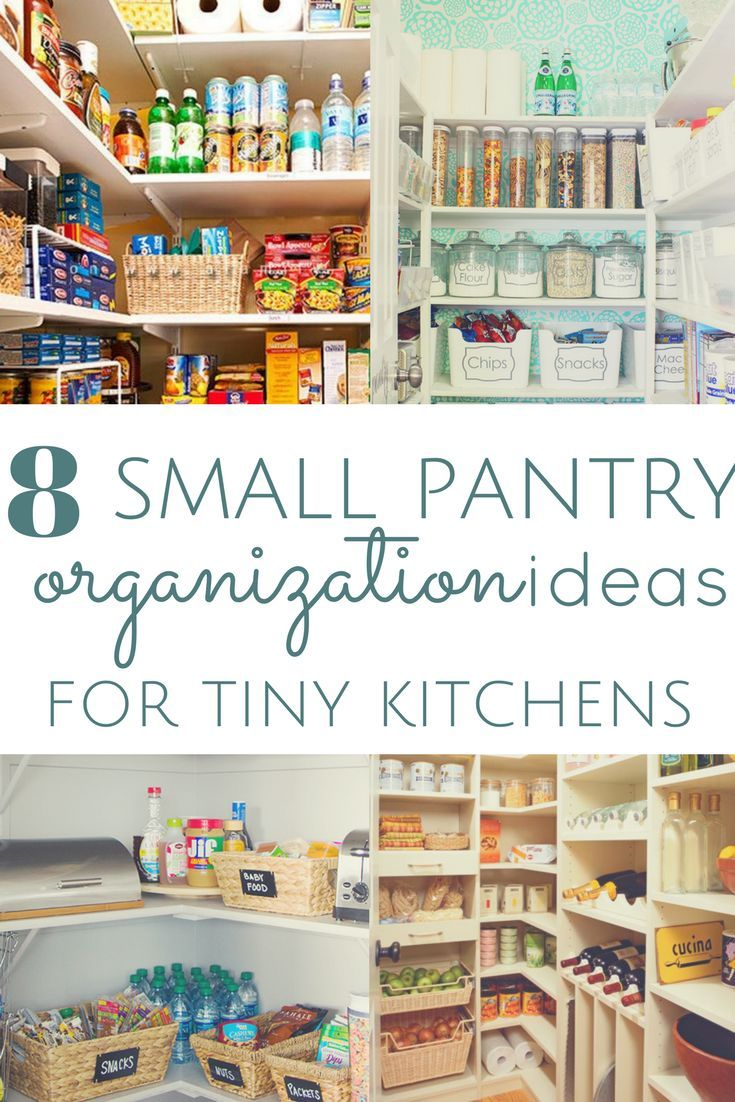 8 Pantry Organization Ideas For Kitchens With No Space Small