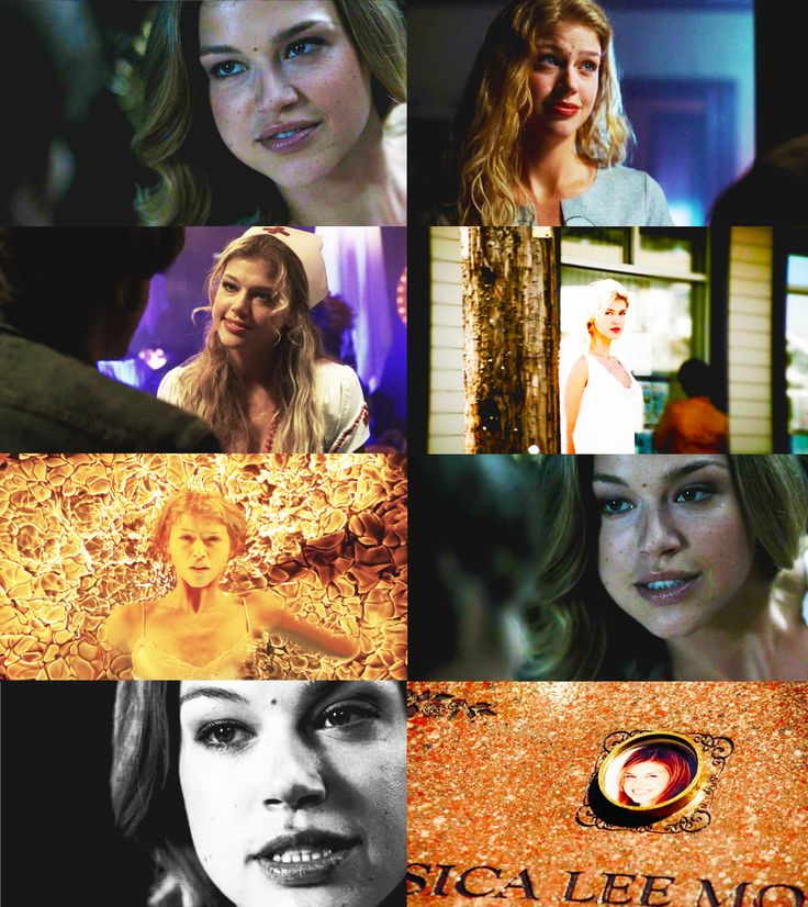 Jess Moore Supernatural Collage