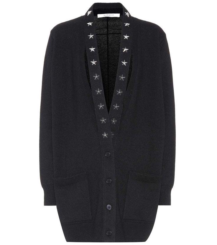 GIVENCHY Embellished Cashmere Cardigan. #givenchy #cloth #cardigan