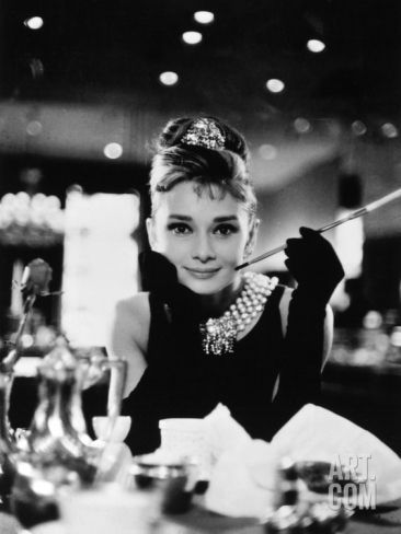 """Audrey Hepburn. """"Breakfast At Tiffany's"""" 1961, Directed by Blake Edwards Photographic Print – #Audrey #Blake #BREAKFAST #Directed"""