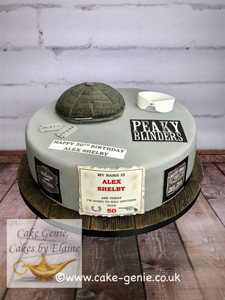 Peaky Blinders Cake In 2019 Big Birthday Cake 18th Cake