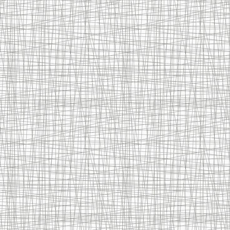 Eco Wallpaper Zig Zag White & Charcoal Wallpaper main image