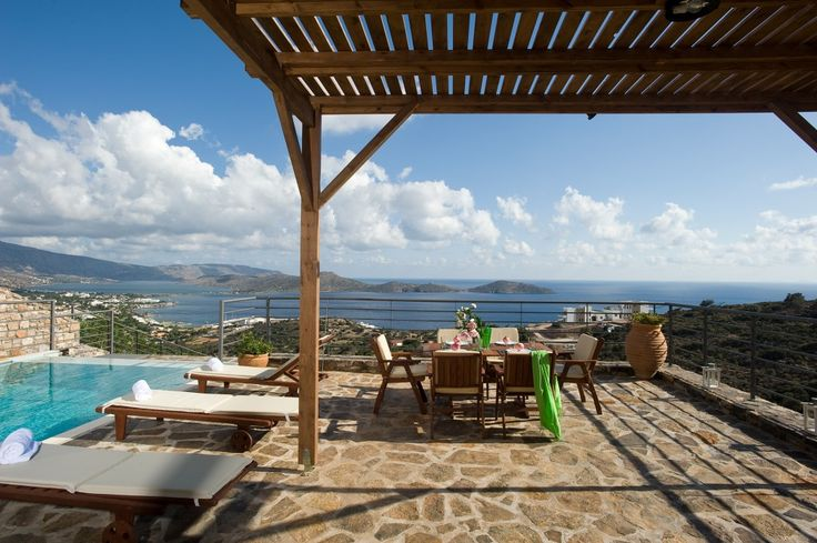 Two bedroom luxury villas with great sea view, Agios Nikolaos | Cretico