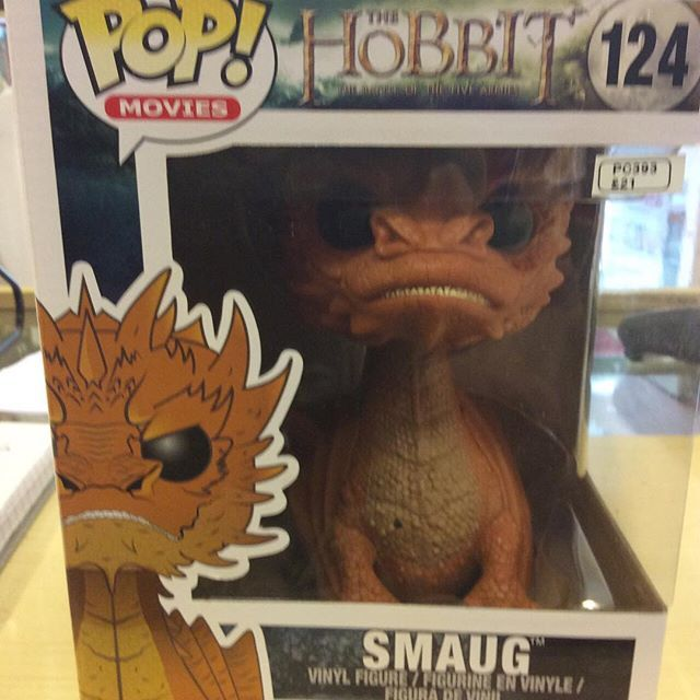 """""""Smaug from The Hobbit 15cm by funko #thehobbit #smaug #funkopopvinyl Like this? I'm selling it on @depopmarket. Search for me: diversions on #depop ✌ """" Photo taken by @diversionsgifts.co.uk on Instagram, pinned via the InstaPin iOS App! http://www.instapinapp.com (07/17/2015)"""