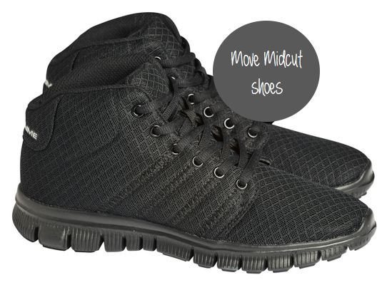 Stay fit with Pure Lime Move Midcut shoes