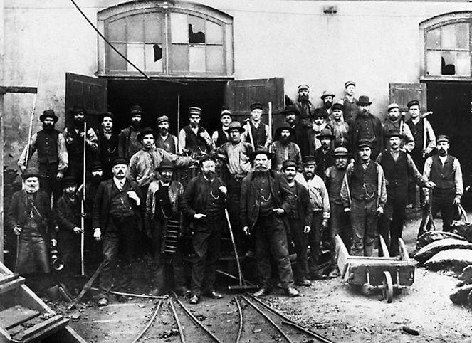 Hyttgubbar -1895.