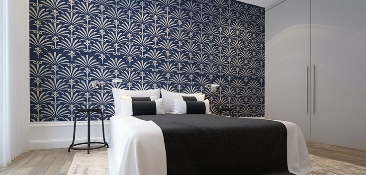 Robin Sprong wallpaper - Surface design available from www.tandco.co.za