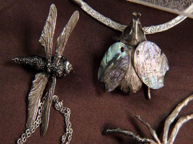 jбижутерия из настоящих насекомых/ ewellery from real insects