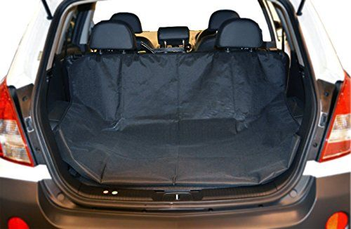 Dog Covers For Car - Car Seat Cover For Pets - 100% Waterproof Back Seat Hammock Cover For Pets - Trunk Protector Cargo Liner In Black Suitable For Most Cars SUVs & Trucks By Mighty Motor
