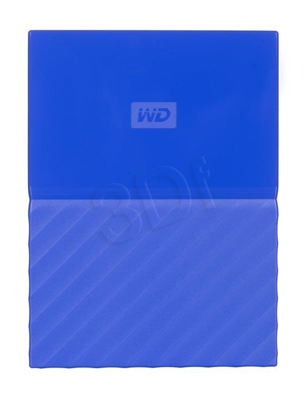 DYSK ZEWNĘTRZNY WESTERN DIGITAL MY PASSPORT WDBYNN0010BBL 1TB 2,5 USB 3.0,USB 2.0 NIEBIESKI