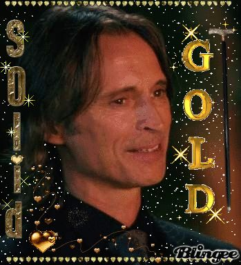 Another Blingee pic I made of Mr. Gold from ABC's Once Upon a Time. Gold is the ultimate form of yellow!! :-) I JUST LOVE THAT SHOW!!! If you click on the picture it will take you to the Blingee site where the glitter on it is animated! :-)
