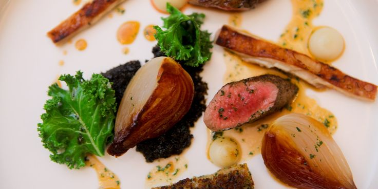 Lamb Recipe with Onion Purée - Great British Chefs