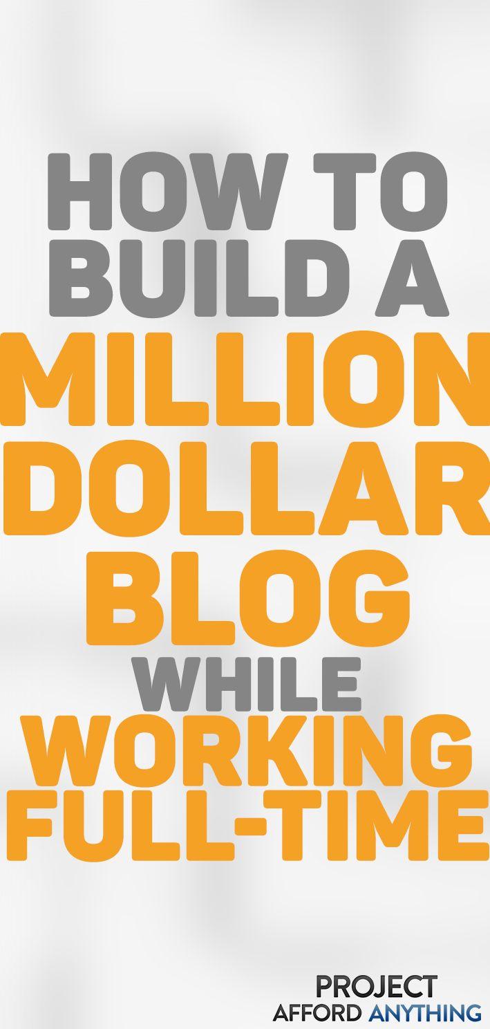 So erstellen Sie ein erfolgreiches Blog, während Sie Vollzeit arbeiten – Blogging & Writing