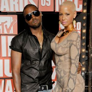 Amber Rose Snaps At Kanye West, Reminds Him About A Very Specific Scene In Kim Kardashian's Sex Tape - MTV