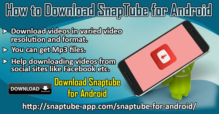 SnapTube for Android is an app that allows you to download not just YouTube videos. But videos from different video streaming sites. There are lots of sites from where you can download videos like Vuclip, Vimeo, Dailymotion etc. Also, this app even enables to download videos from social media sites like Facebook. Website Link :http://snaptube-app.com/snaptube-for-android/