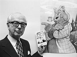 † Marten Toonder (Rotterdam, may 2, 1912 – Laren, July 27, 2005) (here in 1972) Dutch cartoonist, o.a. known as the creator of Heer Bommel en Tom Poes.