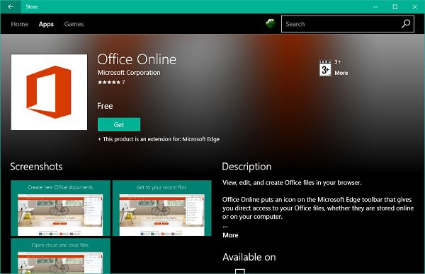 Some time back, Microsoft added Office Online as an extension for Chrome browser that let users create and edit Office documents online. Well, the same extension is now available for Microsoft Edge which you can add and take advantage of. In this guide, we'll take a look at how you can add Office Online extension for Edge and Chrome web browsers and how to use it to create Office documents online.