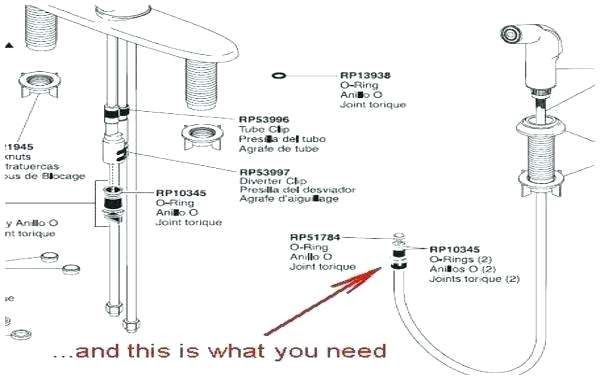 Delta Faucets Parts Diagram Delta Kitchen Faucet Parts Diagram